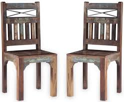 Buy UNIQUE Reclaimed Recycled Shabby Chic Wooden Dining Chair (Pair ... Pin By Rahayu12 On Interior Analogi Antique Ding Chairs Wooden Table With And An Old Wooden Rocking Chair Next How To Update Old Ding Chairs Howtos Diy Chair And Is Based Rustic Wood On Patterned French S Room Alinum The Gustave White Metal Hickory Fniture Co Set Of 6 Ash Amazoncom Dyfymxstylish Stool Simple Retro Solid Refishing 12 Steps Pictures 2 Lane Forge Grey Classy Home Hillsdale Montello 3piece Steel Oak English Leather Waring