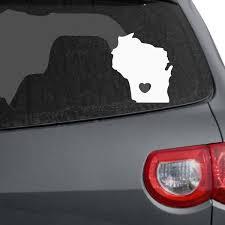 100 Wisconsin Sport Trucks Amazoncom I Love Car Decal White 8 H X 7 W Die Cut