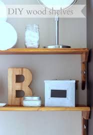 Wood Shelves Diy by One Board Wood Shelves 17 One Board Ideas