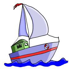 Cartoon Boat Clipart library