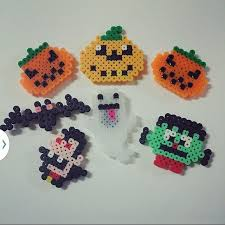 Halloween Perler Bead Templates by Halloween Perler Beads By Onehosu Hama Beads Pinterest
