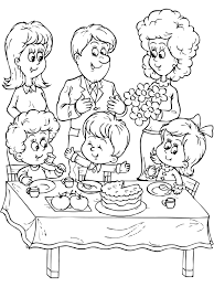To Print Family Coloring Pages 32 In Books With