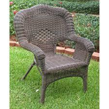 Back Jack Chair Walmart by International Caravan Madison Wicker Resin Patio Chair Hayneedle