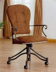 Chromcraft Chair Cushion Replacements by C95 855 Chromcraft Furniture Dinette Caster Chair Available At Www