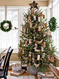 Rustic Artificial Christmas Tree Country