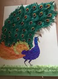 Making The Peacock Paper Craft Happy Crafting 1