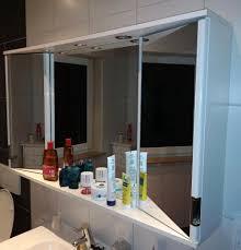spiegelschrank alibert len badezimmer