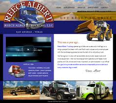 Pallasart Builds New Reece Albert Trucking Website - Pallasart Web ... Truck Driving Jobs Nj Best 2018 Careers 5 Cities With Great Job Markets For People Over 50 Fortune Local Centerline Drivers Trucking Industry Hits Road Bump Rising Diesel Prices Wsj Heartland Express Missouri Carrier Cfi Embraces Veterans Women As Transport Driving A Dump Truck Akbagreenwco Acc School Austin Tx Gezginturknet Southern Refrigerated Srt Service Dicated Cdla Driver Home Time 193 With Dump Albany Ny