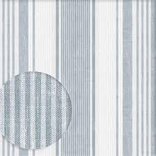 tapete linen stripe blau grau weiss