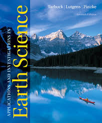 Applications And Investigations In Earth Science 7th Edition