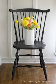 Our Freshly Painted Dining Chairs & Our Favorite Furniture ...