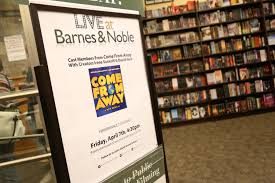 Come From Away Celebrates Cast Recording Release At Barnes And ... Barnes And Noble Nook Sales Decline By 257 At 100 Research Blvd 158 Arboretum Austin Tx Throws Itself A 20year Bash 06880 Joanna Grossmont Center San Diego California Author Spectacular Fundraiser To Help Replenish Filemanga Colmajpg Wikimedia Commons Pursuing The White Whale July 2015 Holidays Archives Fitness Frozen Grapes New Coffee Shop In Hammer Building Religion Section Same Books Different Label Bookfair Friends Of Literacy Hawaii Day 4 The Baseball Collector