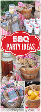 How Great Is This Patriotic Backyard Summer BBQ Party See More Ideas At Catchmyparty