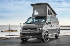 Pure Grey Ashton 94 VW T6 Campervan 102BHP X2