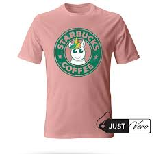 Starbucks Coffee Unicorn Pink T Shirt Size XS 5XL