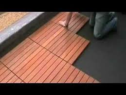 Ipe Deck Tiles This Old House by Installation Of Eco Decking Tiles Eduk Youtube