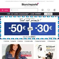 code reduction la blanche porte ᐅ economisez code promo blancheporte 2018 20 de réduction