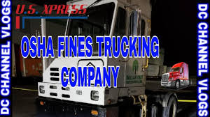 OSHA Fines US XPRESS Trucking Company After 'On-Site Dangers' Leads ... Welcome To The Indianapolis Terminal Of Us Xpress Adventures In Pit Group To Conduct Fuel Efficiency Tests For Trucking Industry Expected See Slower Growth 2019 Transport Usx Stock Price Enterprises Inc Cl A Quote My New Truck At 2015 Freightliner Xpress Enterprises Trucking Youtube Vanguard On Roborecruiting Tandem Thoughts Ep 7 Hammering Down Walmart Dc Wus What Is The Difference In Per Diem And Straight Pay Drivers