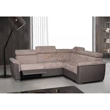 canap d angle 200x200 canapé cuir bicolore relax massant chauffant absolut