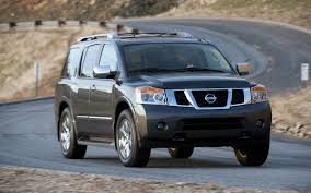 Pre Owned: 2007-2012 Nissan Armada - Truck Trend 2018 Nissan Armada Platinum Reserve Wheel The Fast Lane Truck With Ielligent Rear View Mirror Palmer Vehicles For Sale 2017 Takes On The Toyota Land Cruiser With A Rebelle Yell Turns Rally Car Kelley Tractor And Pull Fair 2011 Nissan Armada Platinum 4wd Suv For Sale 587999 Adventure Drive First Of Pathfinder Titan 2015 Sv 5n1aa0nc1fn603728 Budget Sales 2012 Used 4dr Sl At Conway Imports Serving