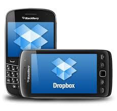 blackberry dropbox