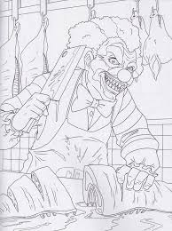 CLOWNS GONE BAD COLORING BOOK