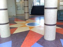 Colorful Pattern Marmoleum Flooring Full Size