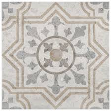 Mission Tile And Stone Santa Cruz by 13x13 Ceramic Tile Tile The Home Depot