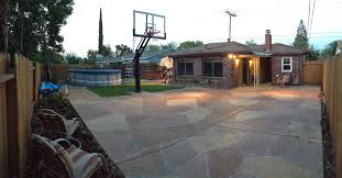 A Great View From The Corner Of This Unique California Court Where ... Loving Hands Basketball Court Project First Concrete Pour Of How To Make A Diy Backyard 10 Summer Acvities From Sport Sports Designs Arizona Building The At The American Center Youtube Amazing Ideas Home Design Lover Goaliath 60 Inground Hoop With Yard Defender Dicks Dimeions Outdoor Goods Diy Stencil Hoops Blog Clipgoo Modern Pictures Outside Sketball Courts Superior Fitting A In Your With