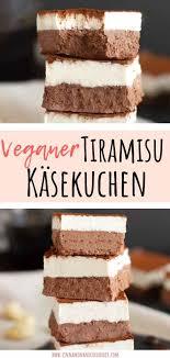 veganer tiramisu käsekuchen ohne backen cinnamon coriander