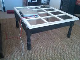 FurnitureCubical Wooden Crate Coffee Table With Bookcase Underneath Also Light Brown Laminate Floor