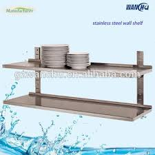 mercial Hanging Kitchen Wall Shelf For Microwave stainless
