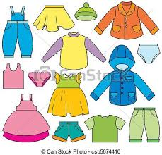Clothing Illustrations And Clipart 132462 Royalty Free Intended For Childrens