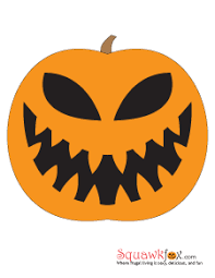 Skeleton Pumpkin Carving Patterns Free by Pumpkin Stencils Free Pumpkin Faces For Some Frugal Halloween Fun