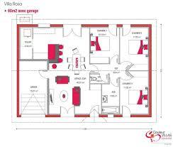 plan maison 90m2 plain pied 3 chambres plan maison plein pied 90m2 1 plan maison plan