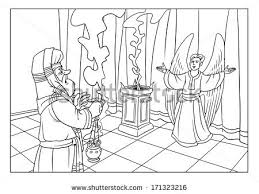 Zacharias And The Angel Gabriel Christmas Event