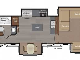 Luxury Fifth Wheel Rv Front Living Room by Floor Plans 5th Wheel Front Living Room Floor Plan Luxury 5th