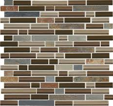 Menards 3 Drain Tile by Mohawk Phase 12 X 12 Glass And Stone Mosaic Tile At Menards