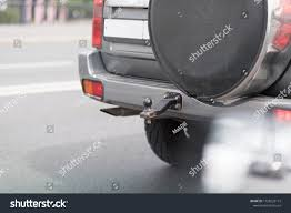 Trailer Hitch On Back Car Truck Stock Photo (Edit Now) 1128229115 ...