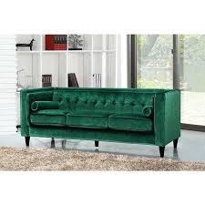 Green Velvet Sofa Meridian Ikea Reviews