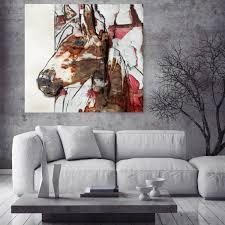 Italian Tile Imports Ocala Florida by Horse Art Large Horse Unique Horse Wall Decor Brown White