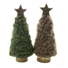 Sheas Wildflowers Wooly Christmas Tree With Star