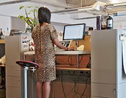 Varidesk Standing Desk Floor Mat by Gratify Illustration Optimist Laptop Desk Chair In The Juvenescent
