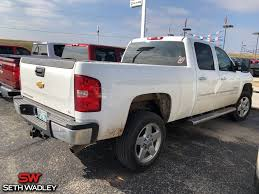 100 Chevy 2013 Truck Used Silverado 2500HD LT RWD For Sale Pauls Valley