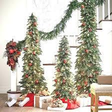 Tall Slim Christmas Tree Very Best Skinny Trees Ideas On Down Swept