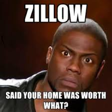 A New Kind Of Buyer Zillow Home Value Kevin Hart Meme