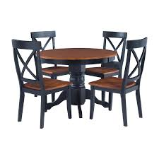 Style Round Furniture Sets Chairs Tables Set Cottage Room ...