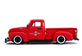 100 Just Trucks 124 1953 Chevy Pickup Primer Red
