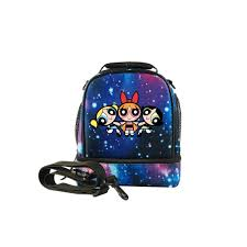 The Powerpuff Girls Dual Compartment Soft Lunch Box Bag