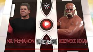Halloween Havoc 1998 Card by Wwe 2k17 Hollywood Hulk Hogan Vs Vince Mcmahon In A No Holds
